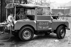 Land Rover Series I Fire tender 1950s