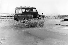 Land Rover Series II 88 inch station wagon circa 1959