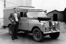 Land Rover Series I 1955 107 inch station wagon