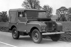Land Rover number one in 1950