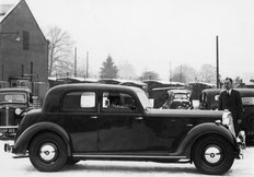 Rover (P3) 16 Sports saloon 1947