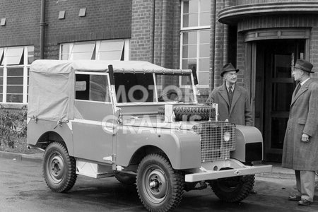 Land Rover Series 1 80 inch 1950s