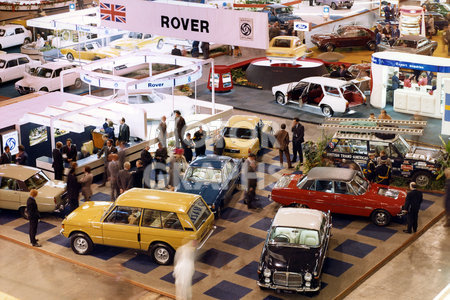 London Earls Court Motor Show 1972