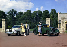 The Riley Kestrel (1100) 1935 and 1965