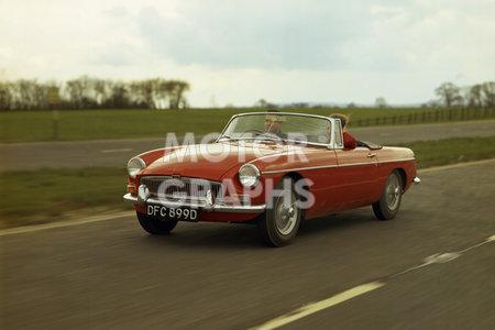 Mgb 1966 motor graphs for British motor heritage mgb