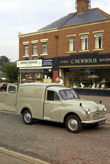 Morris Minor 6cwt van 1966