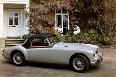 MG MGA with hardtop 1960