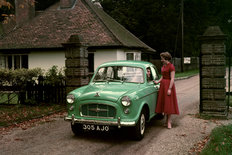 Morris Major saloon 1957