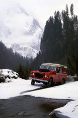 Land Rover V8 station wagon 1980
