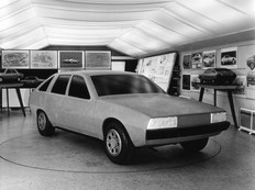 Rover SD1 clay mock up 1971