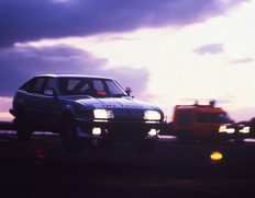 Rover SD1 on test 1982