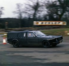 Rover SD1 testing 1975