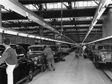 Solihull Factory Rover Company 1957