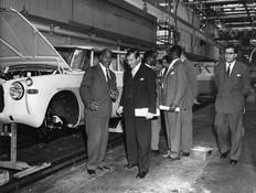 Solihull Factory Rover Company 1959