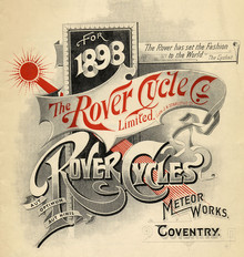 Rover Cycle Co Limited 1898