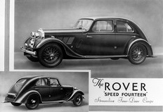 Rover Speed Fourteen 1934