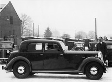 Rover 16 Sports saloon (P3) 1947