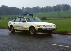 Rover SD1 police car 1980