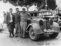 Triumph Gloria tourer 1934