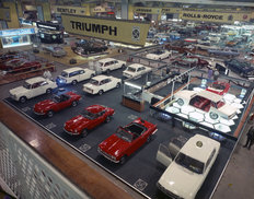 Triumph Motor Show stand 1969