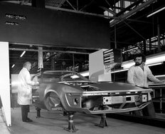 Speke factory British Leyland 1976