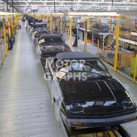 Solihull factory British Leyland 1980