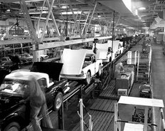 Canley factory British Leyland 1969