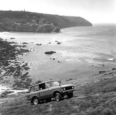 Range Rover Press Demo Falmouth 1970