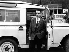 Tom Barton Land Rover Technical Director 1959