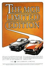 MGB Limited Edition 1981