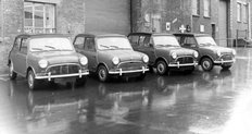 Mini Cooper S For 1966 Monte Carlo Rally 1965