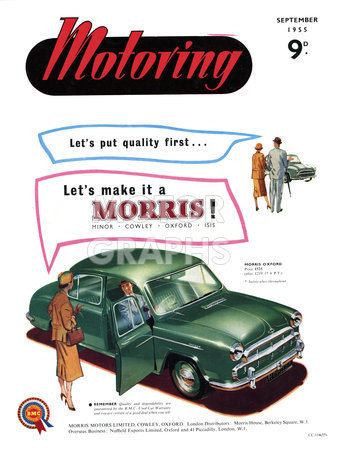 Motoring Magazine September 1955