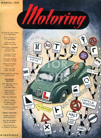 Motoring Magazine March 1950