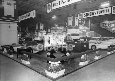 Austin Healey Stand 1955 Motor Show