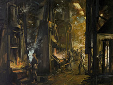 BMIHTOil Painting Longbridge Foundry