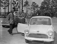 Mini Launch Issigonis 1959