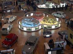 Austin Stand Motor Show 1963