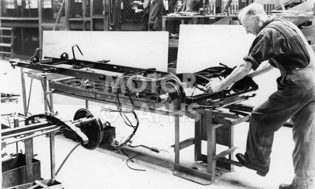 MG TC Midget Production 1946