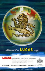 Lucas Advertisement All The World 1967
