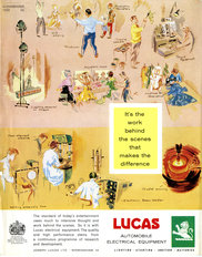 Lucas Advertisement Behind The Scenes 1965