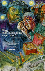Lucas Advertisement Communications Experts 1971
