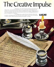 Lucas Advertisement Creative Impulse 1973