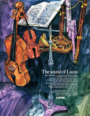 Lucas Advertisement Sound of Lucas