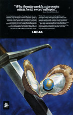 Lucas Advertisement Worlds Mine Oyster 1969