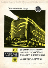 Lucas Diesel Fuel Injection Ad 1959