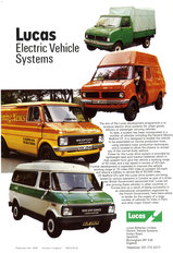 Lucas Electrical Vehicle Systems