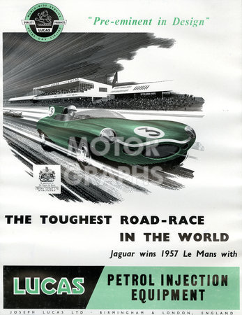 Lucas Toughest Road Race 1958