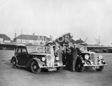 Wolseley's With Plane 1938