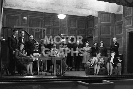 Cast On Stage 1946