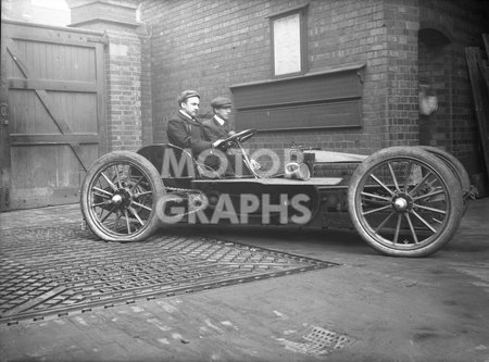 Stationary Racing Car 1904